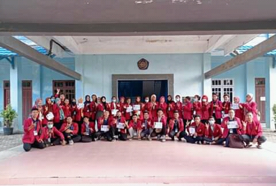 Mahasiswa FISHUM Raih Peserta 3 Terbaik LDKM UNIMUDA SORONG 2021